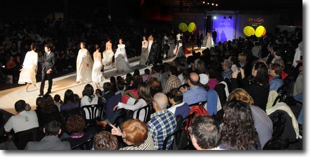 Desfilada del saló DeNuvis l'any 2008