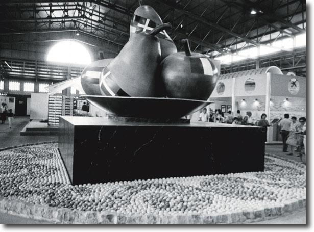 Primera edició d'Eurofruit l'any 1986