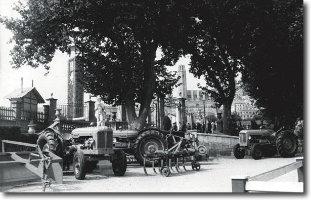 Exposició de maquinària l'any 1959