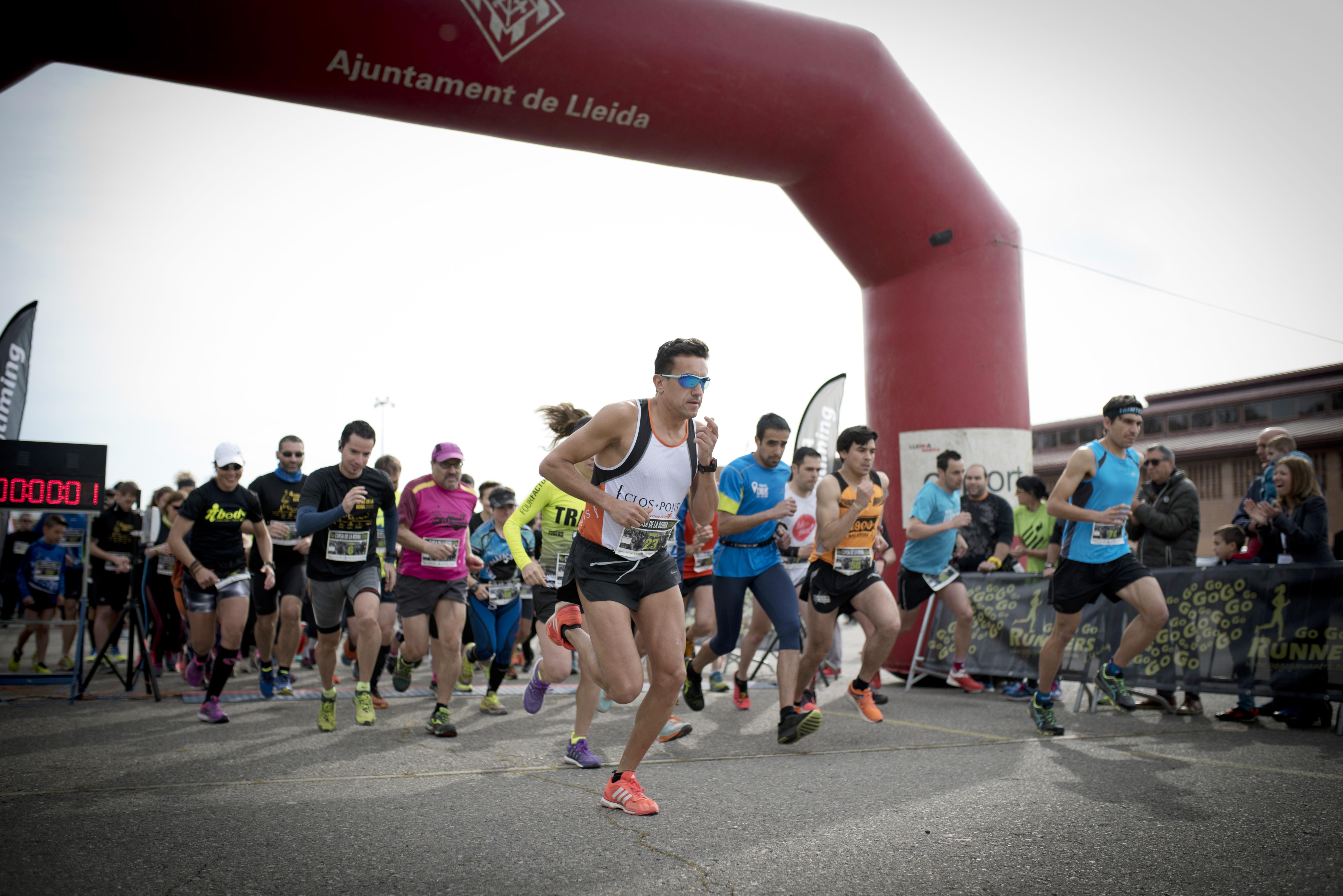 Fira de Lleida | Unos 400 participantes en la carrera de la niebla ...