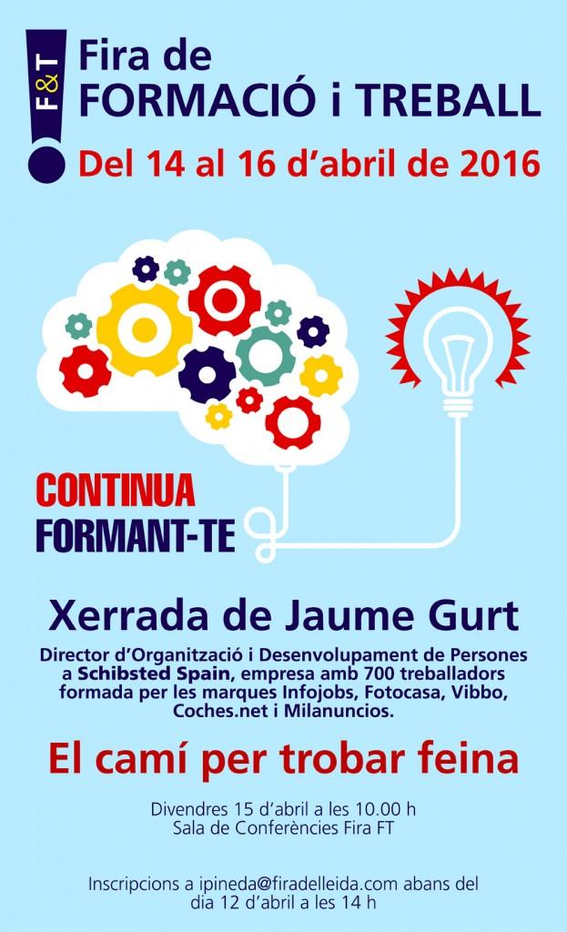 FT2016 - Xerrada Jaume Gurt