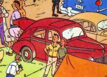 1950 Peugeot 203 (C)
