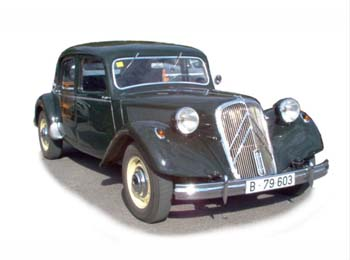 1952 Citroen Traction Avant 15-Six (R)